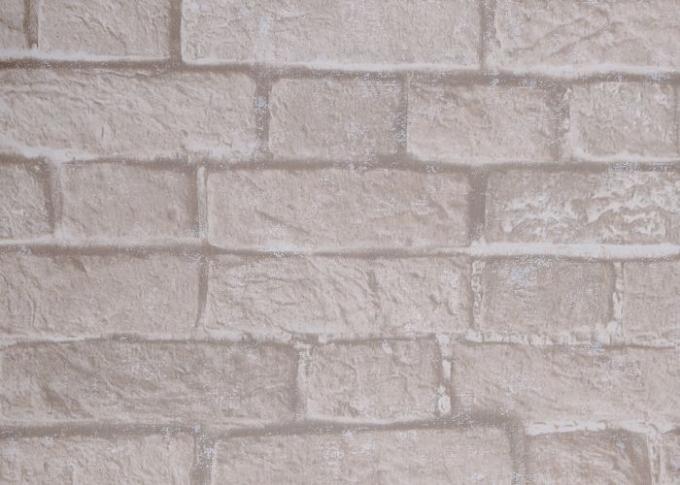 papier peint d montable d 39 effet de brique du style chinois 3d avec la couleur grise blanche. Black Bedroom Furniture Sets. Home Design Ideas