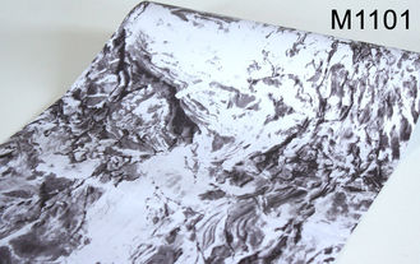 papier peint auto-adhésif de marbre de l'effet 3D, papier peint à la maison 0.45*10m de décoration