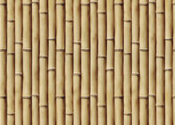 Bamboo 264g / m2 living Interior Room Wallpaper CE / ISO / SGS / CSA