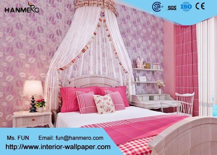 papier peint d montable moderne pourpre de pi ce de literie pour des murs de chambre coucher. Black Bedroom Furniture Sets. Home Design Ideas