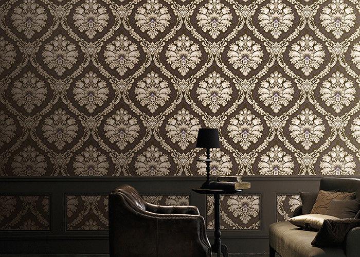 style coren de papier peint 106m la maison classique de dcoration avec le modle de damsk cologique