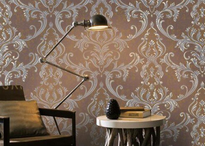 Mod le floral de d coration de papier peint la maison for La maison du papier peint
